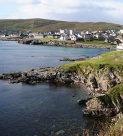 Größte Shetlandinsel