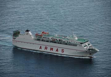 Naviera armas informationen zu berfahrten mit naviera for Oficinas de naviera armas