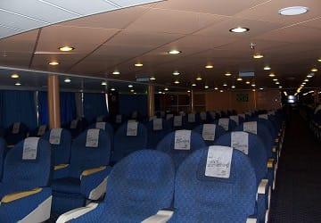 Tirrenia janas f hre bewertung und schiffsf hrer for Ba cabina di prima classe